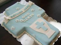 1st Communion Cake $75