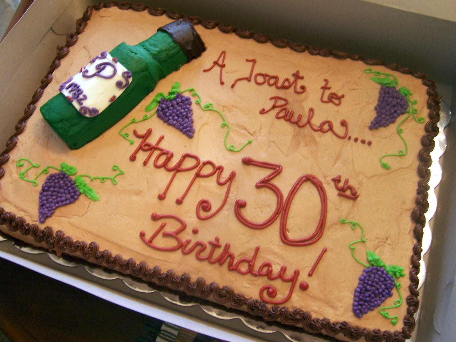 Birthday Cake Ideas For Wine Lovers