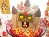 Super Mario – Bowser Castle Birthday Cake