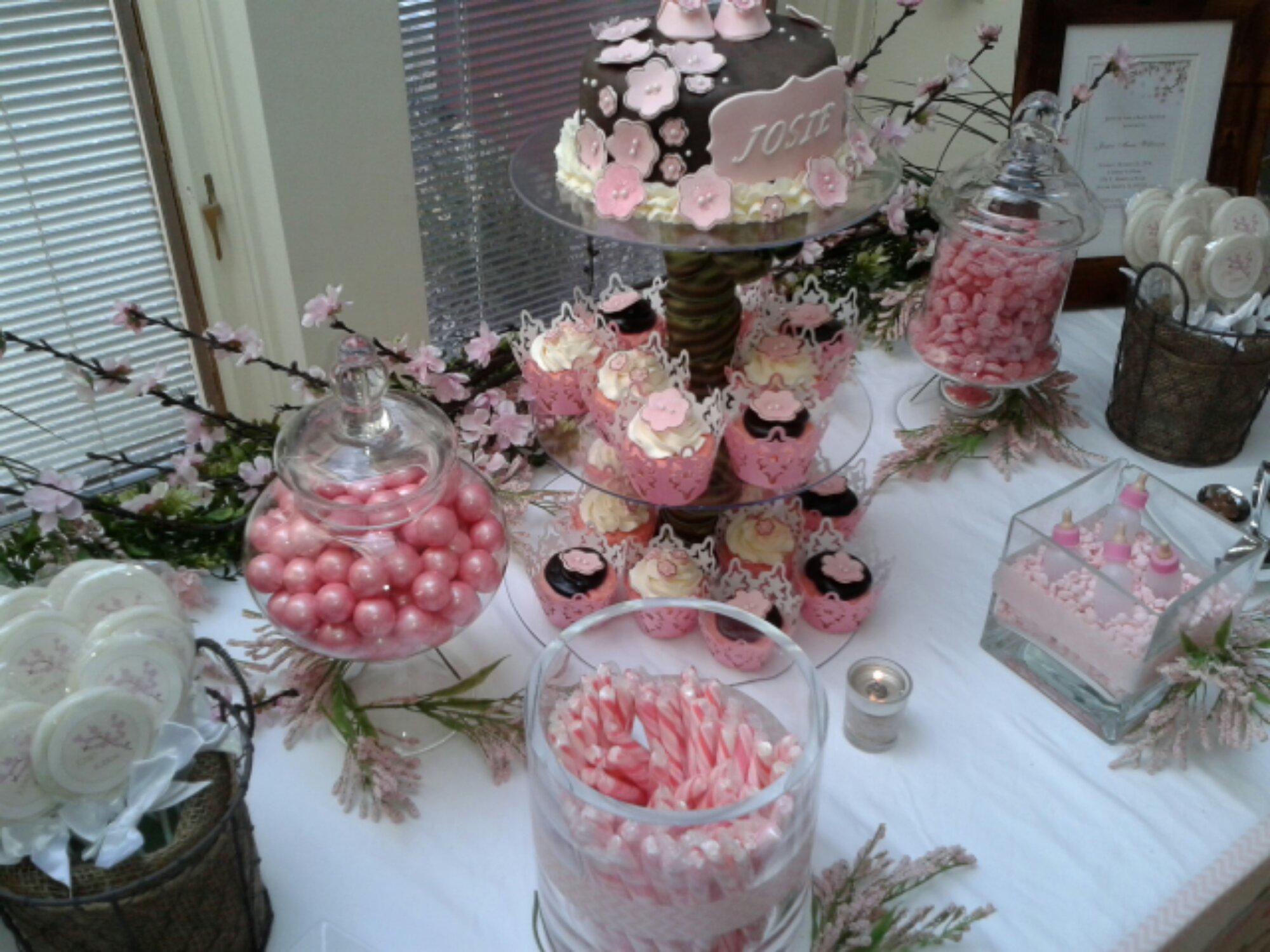 Cherry Blossom Baby Shower Sugar Shindigs